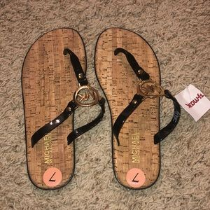 NWT Black Michael kors sandals